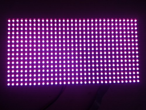 P8 DIP outdoor full color LED module