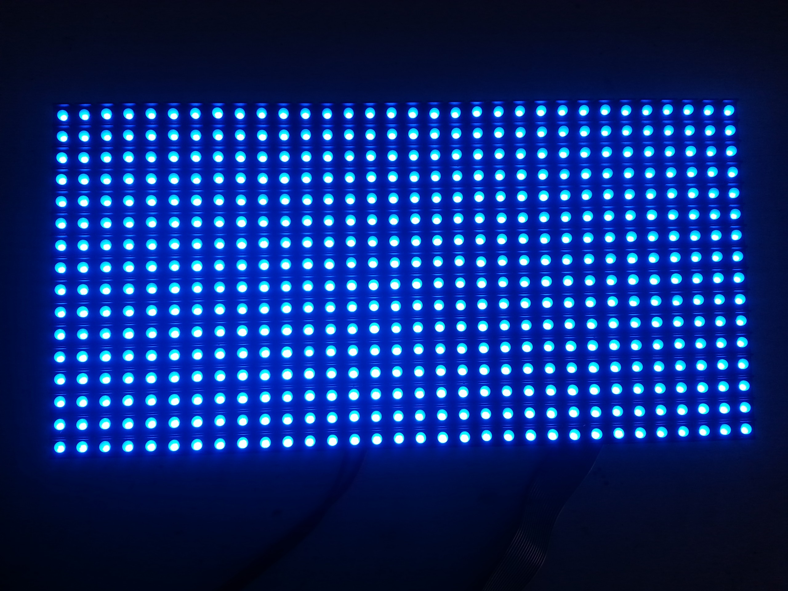 P8 32*16 dots outdoor led module