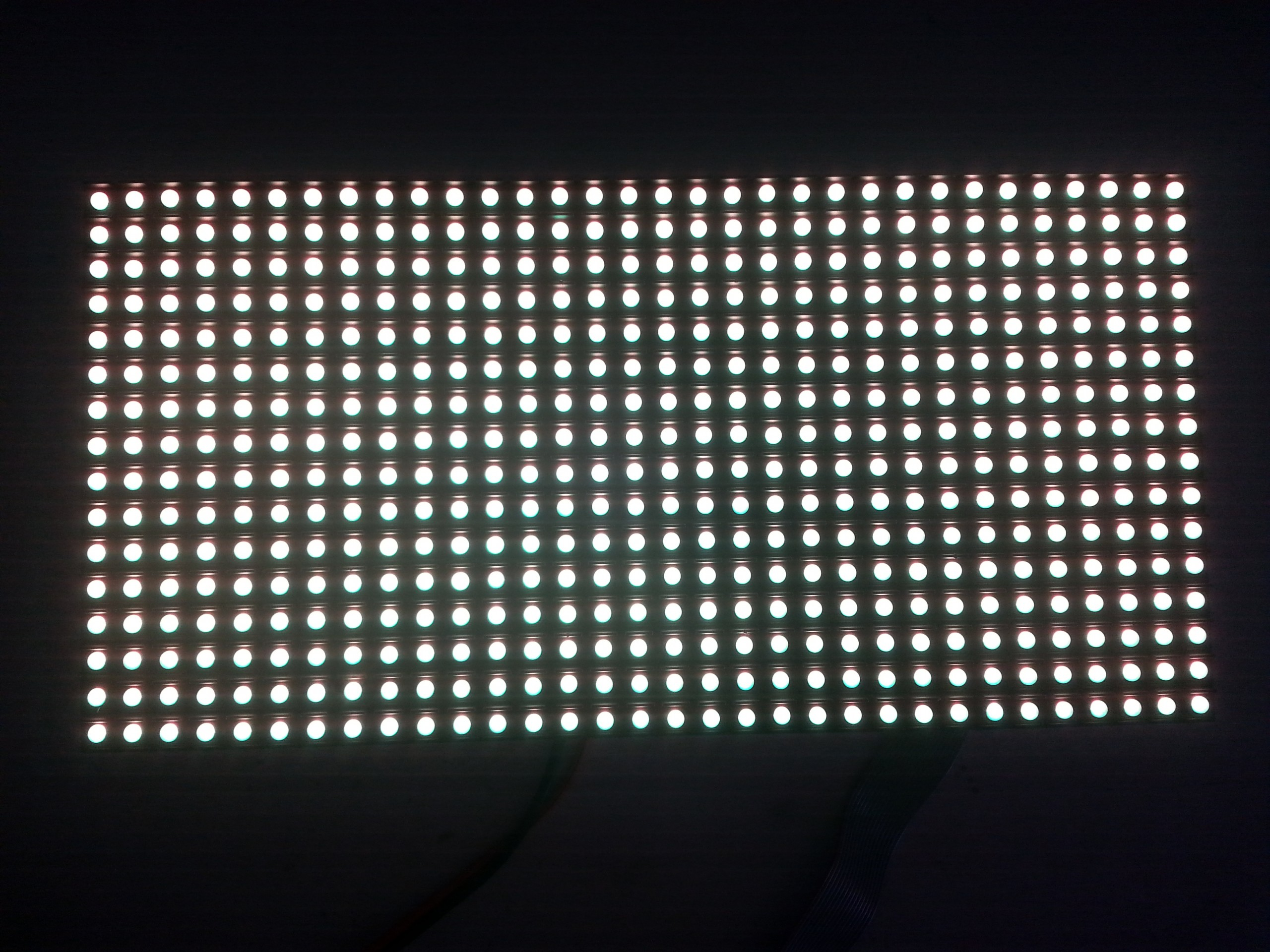 P8 DIP Outdoor Full Color LED Display Module 40x20 dots
