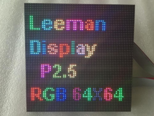 P2.5 Indoor SMD Full Color LED Display Module