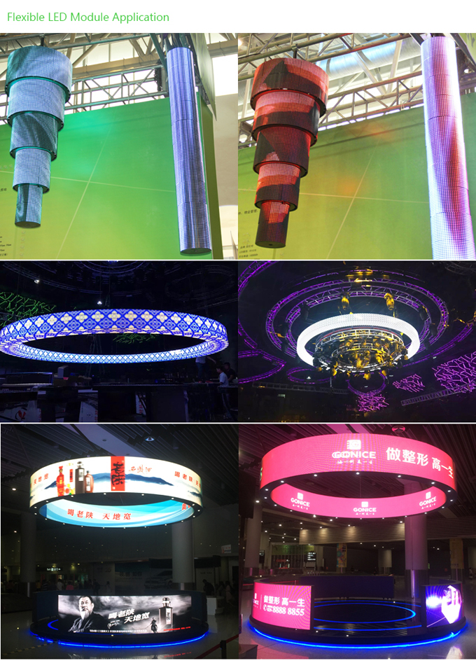 Search Results Web results P2.5 Indoor Soft Flexible LED Display Module