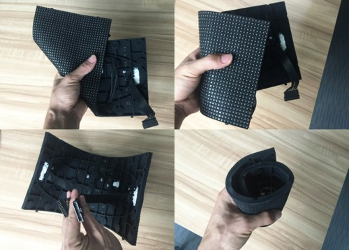 P2.5mm Flexible Soft LED Display Panel