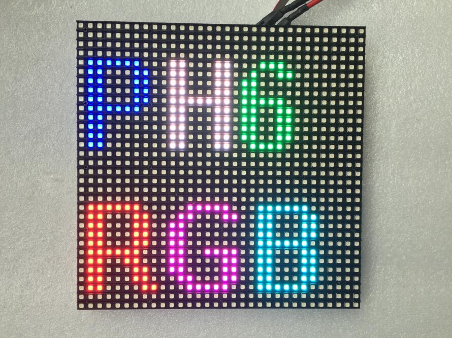 China P6 Outdoor SMD Full Color LED Display Module