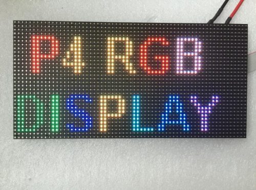 led dot matrix display module 64x32 smd2121 led module P4