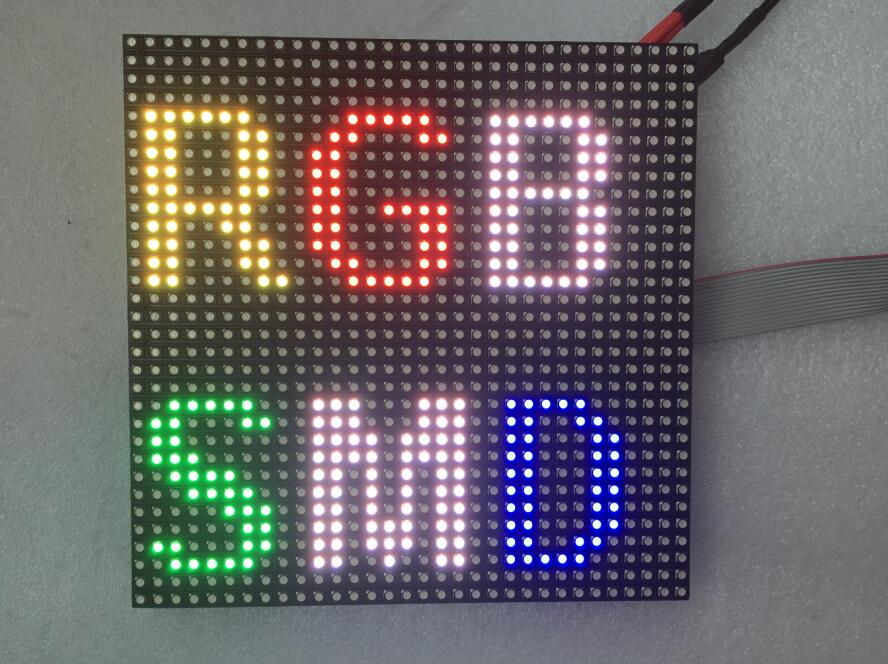 P6 Full Color indoor SMD LED Module 192x192