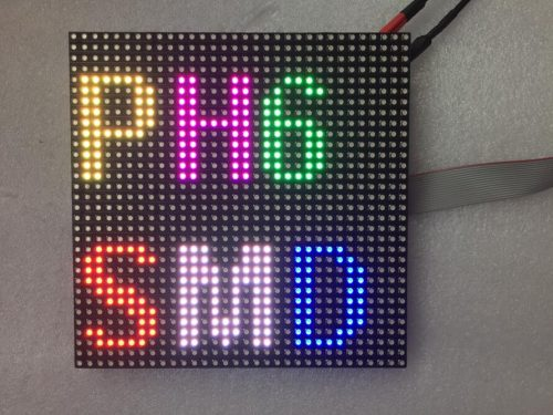 P6SMD full color outdoor LED module 192mm*192mm