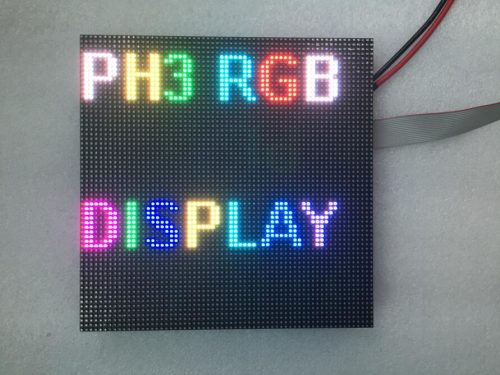 P3 192mmx192mm led video board HD SMD2121 indoor LED display module with 1/16, 1/32 scan