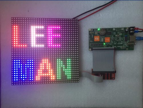 P6 Led Module Display Panel SMD3528 Indoor HD 32*32