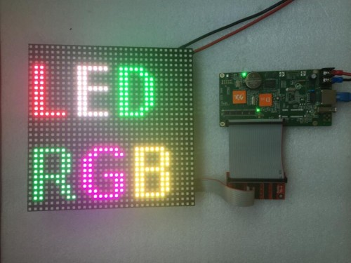 SMD3528 P6 led module price rgb led matrix full color