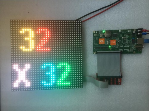 p6 indoor led module arduino