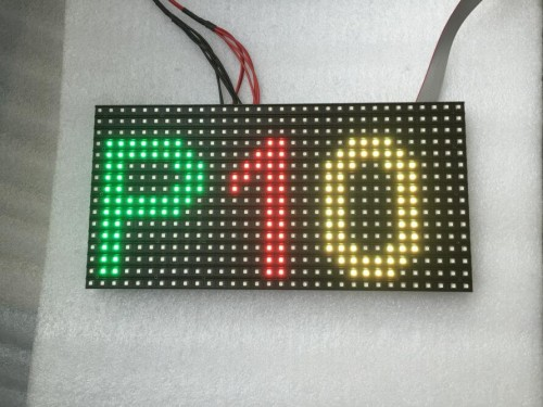P10 SMD Outdoor LED Display Modules 1/4 Scan