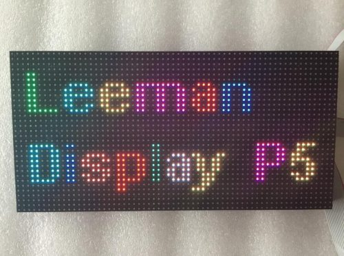 Indoor full color led module P5 320mmx160mm