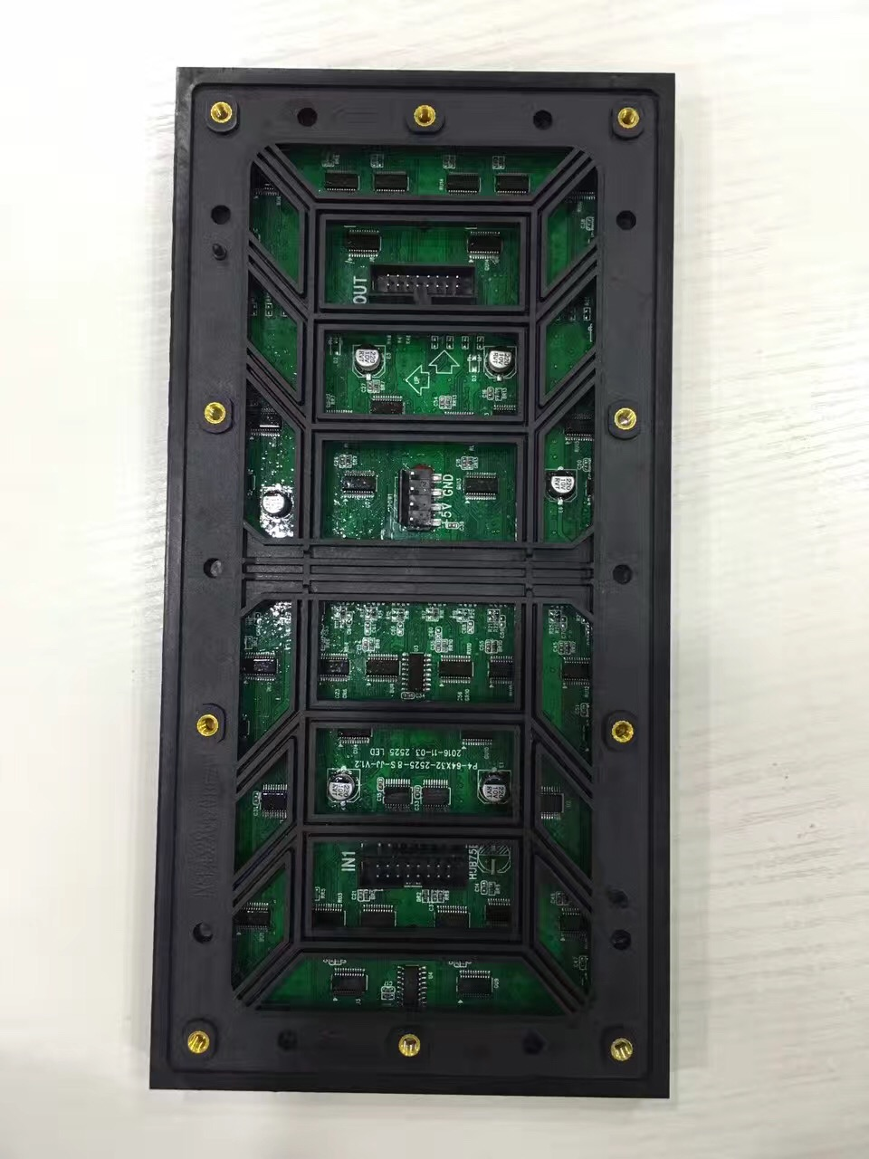256x128 mm P4 outdoor SMD led display module