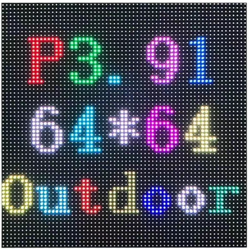 P3.91 Outdoor SMD Full Color LED Display Module