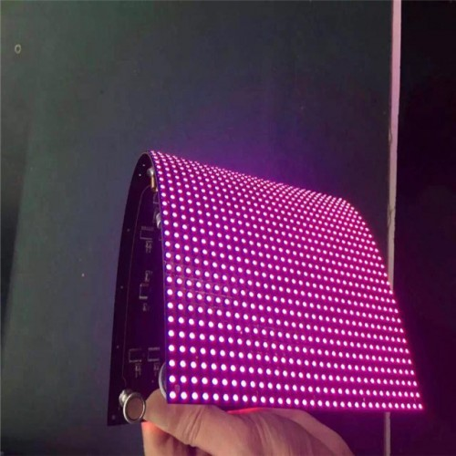HD soft led panel P2.5 flexible led module P1.25p2.48p3.91