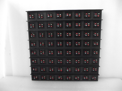 P31.25 outdoor LED display module DIP full color led