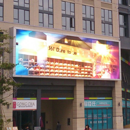 P3.076 Outdoor 960x960mm LED Panel Wall