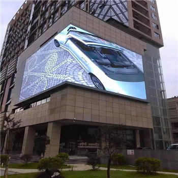 Outdoor P10 LED Video Display Screen Big Advertising Billboard for Fixed Installation