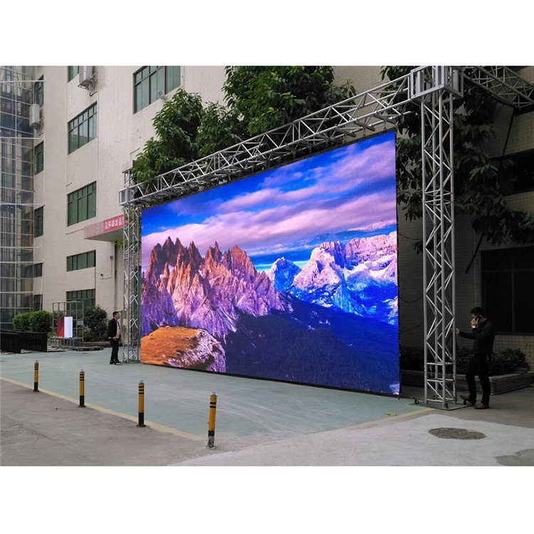 P2.604mm outdoor LED Display Module 250mmx250mm