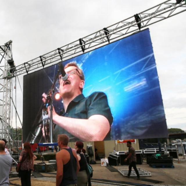 Outdoor P2.604mm Rental LED Display Screen 500x500