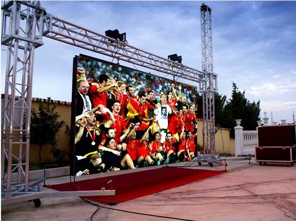 P3.91 Indoor Rental LED Screen Panel 500X500mm