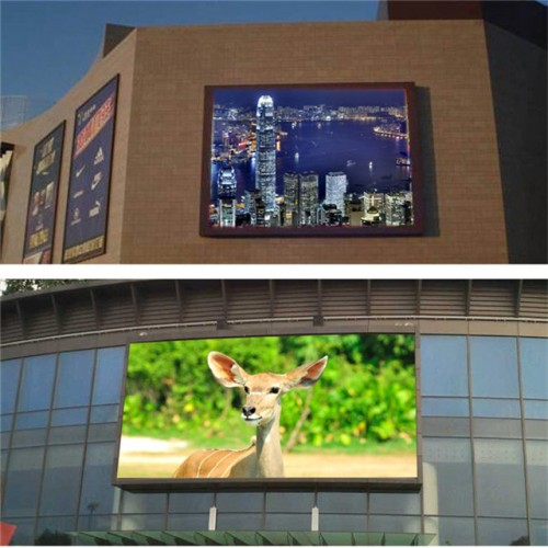 P6 outdoor video wall advertising full color led display SMD Die-cast aluminum stage background led screen
