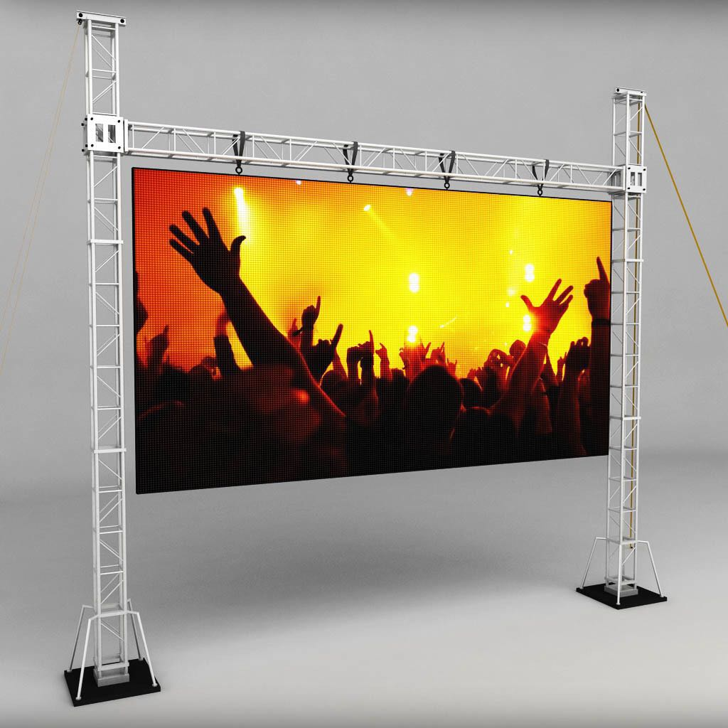 P2.604 Curve LED Display Screen 1000x500