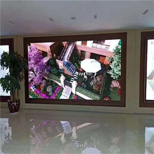 4K P1.25 LED Video Wall Screen Installation