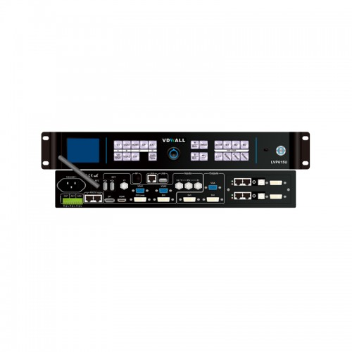 LED video wall processor with 1920×1080