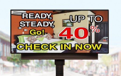 P6.67mm DIP 3in1 Outdoor LED Display