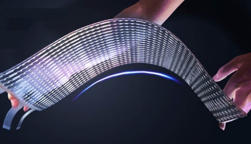 Flexible Soft LED Transparent Display