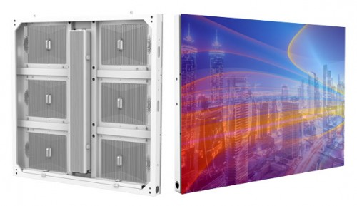 Dual Service Energy Saving LED Display 960x960 Outdoor Waterproof IP68
