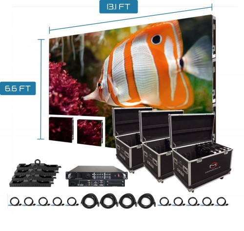 P3.91 outdoor led display module