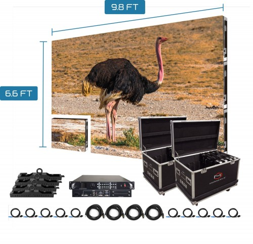 P3.91mm Outdoor LED Display Panel 250x 250mm