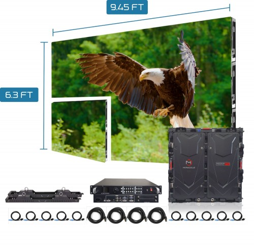 Outdoor Rental Led Video Wall Screen P2.976 Display