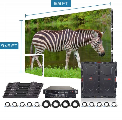 P3.91 P4.81 waterproof led panel 500*500mm Outdoor Front Service LED Display
