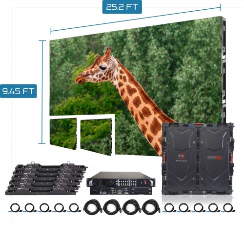 P2.976 outdoor SMD full color LED display