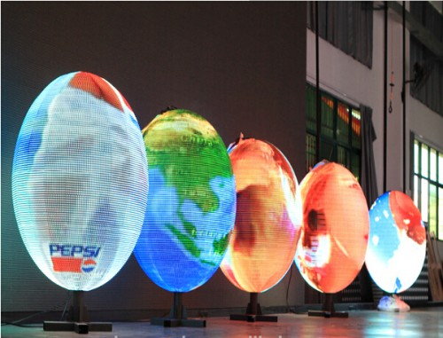 LED Sphere Display