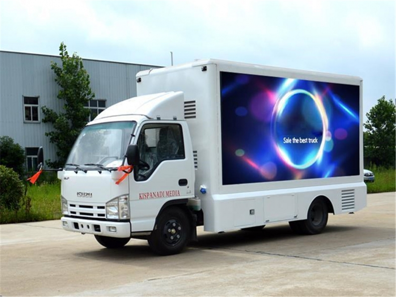 Two in One LED Display Truck
