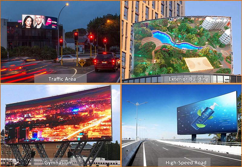 P4 Outdoor Module Front Service LED Display