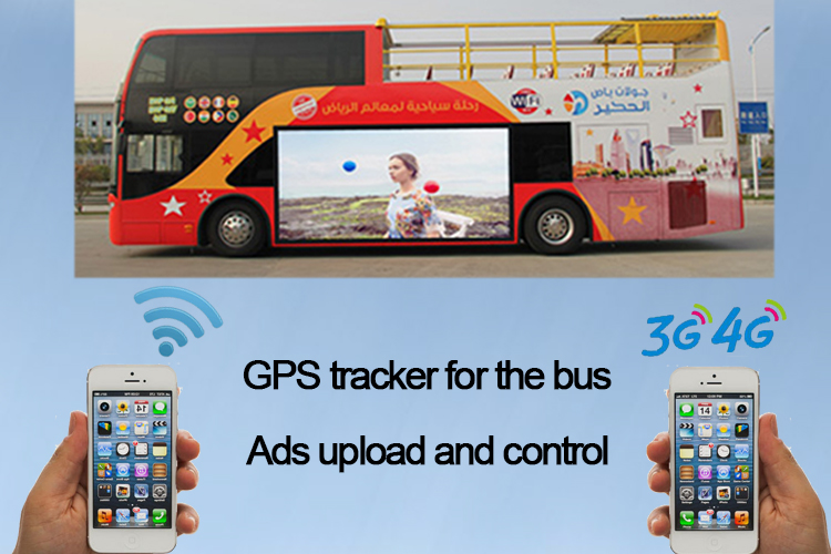 Multimedia LED Screen Bus