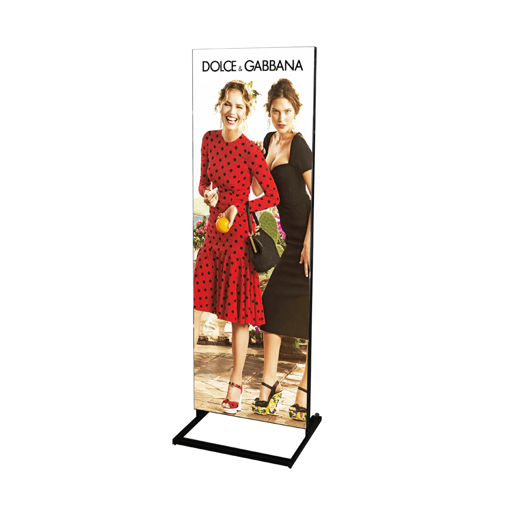 Creative & Smart Double Sided Digital LED Poster Display