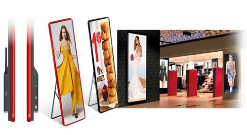 P2 LED Poster Video Display Advertising