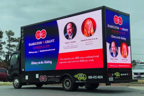 led advertising truck prices