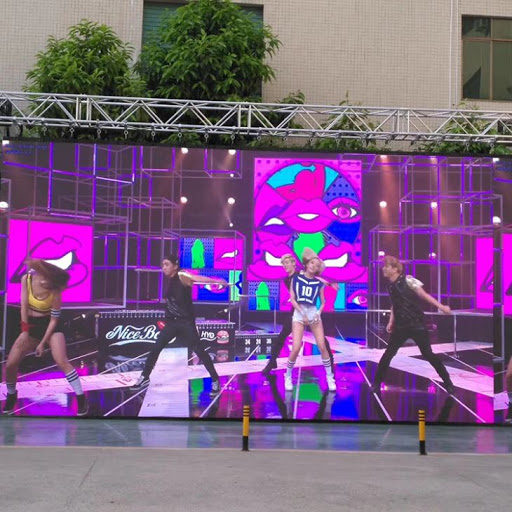 large outdoor led screen for hire