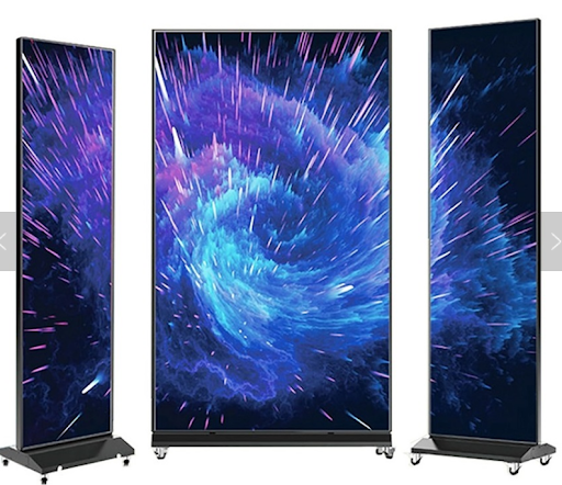 led poster video display