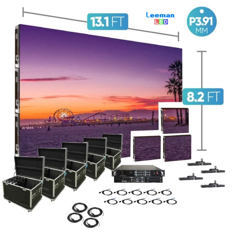 Stage Event Rental Led Video Wall Screen